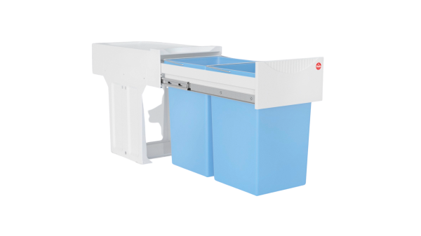 Passendes Abfalltrennsystem für Klapptür (Antibakteriell)