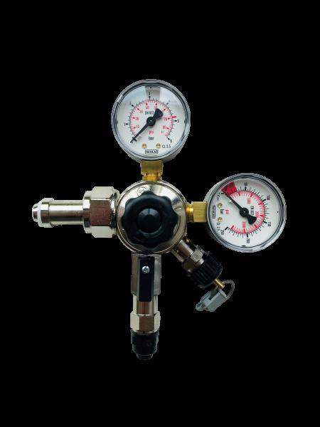 CO2-Druckminderer für große CO2-Flaschen